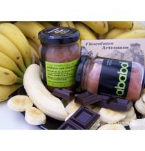 Plátano con chocolate-elababol-comprarenred.com
