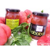 Tomate Rosa con Albahaca-elababol-comprarenred.com