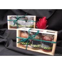 Caja Regalo de 3 Tarros de 215 gr-elababol-comprarenred.com